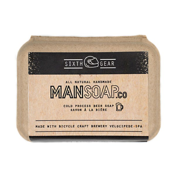 ManSoap Co - Beer Soap - Sixth Gear