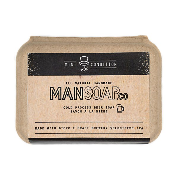 ManSoap Co - Beer Soap - Mint Condition